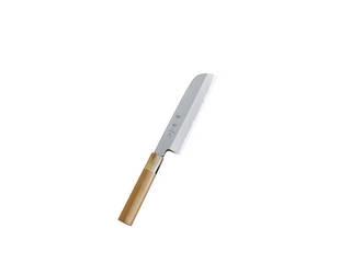神田上作 鎌形薄刃 165mm