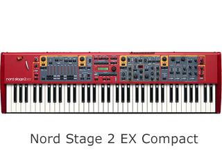 CLAVIA/クラヴィア Nord Stage 2 EX Compact ステージピアノ