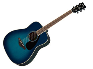 YAMAHA/ヤマハ 【納期未定】FG-820 SB (サンセットブルー) アコースティックギター 【SFG820SB】 【YMHAG】【YMHFG】【ソフトケース付き】[【RPS160415】