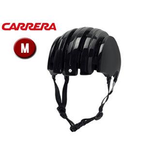CARRERA/カレラ FOLDABLE BASIC シティバイクヘルメット 【Mサイズ(S/M)】 (Shiny Black)