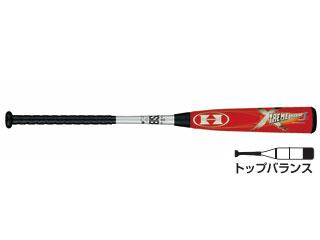 HI-GOLD/ハイゴールド UBT-0078 少年軟式バット エクストリームインパクト 【78cm】(シルバー×レッド)