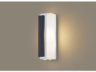 Panasonic/パナソニック LGWC80441LE1 LEDポーチライト オフブラック【電球色】【左側遮光】【明るさセンサ付】【壁直付型】