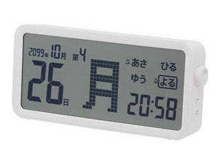 KINGJIM/キングジム 暮らしにあれまの驚きを arema 日付と曜日がひと目でわかる 大きなデジタル日めくりカレンダー AM60