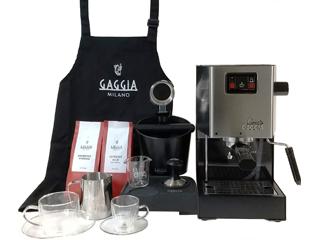 ムラウチドットコムはGAGGIAの正規販売店です GAGGIA/ガジア セミオート(半自動)エスプレッソマシン Classic(クラシック) SIN035PS プロフェッショナルセット 【gaggiafair】【gaggia】