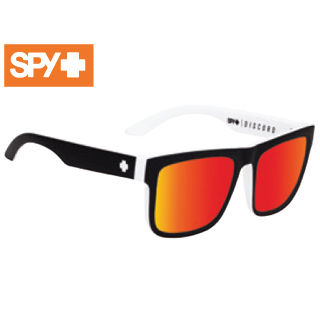 SPY/スパイ 673119209365 DISCORD [フレーム:WHITEWALL] (レンズ:Happy Gray Green w/ Red Spectra)