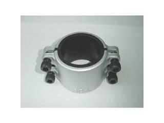 KODAMA/児玉工業 圧着ソケット鋼管直管専用型ハーフサイズ80A 1/2 L80AX0.5