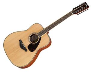 YAMAHA/ヤマハ FG-820-12 ナチュラル(NT) アコースティックギター 【SFG82012】 【YMHAG】【YMHFG】【ソフトケース付き】[【RPS160415】