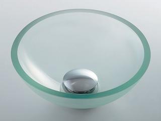 KAKUDAI/カクダイ 493-028-C ガラス丸型手洗器