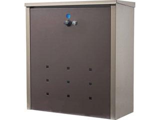 メール便兼用宅配ボックス チタングレー/グレイッシュブラウン TFH-75M(TGY/GB)