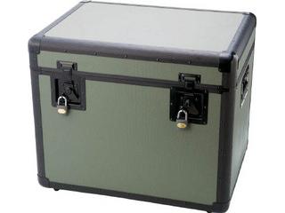 TRUSCO/トラスコ中山 【代引不可】万能アルミ保管箱 オリーブドラブ 610X457X508 TAC-610OD
