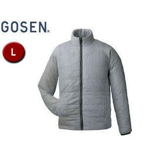 【nightsale】 GOSEN/ゴーセン Y1612 アイダーウォームスジャケット 【L】 (ライトグレー)