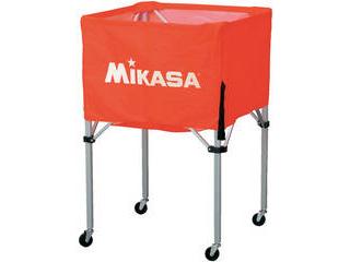 MIKASA/ミカサ 器具 ボールカゴ 箱型・大(フレーム・幕体・キャリーケース3点セット) オレンジ BCSPH-O