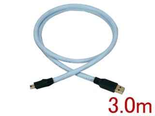 SUPRA/スープラ SUPRA USB 2.0 Mini B 3.0m 高品質HIGH SPEED対応USBケーブル