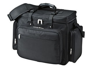 サンワサプライ プロジェクターバッグ(15.6インチワイド対応・ブラック) BAG-PRO4