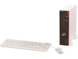FUJITSU 富士通 デスクトップPC ESPRIMO D588/CX (Core i3-8100/4GB/500GB/Win10Pro/Office H&B 2019) FMVD4505KP 単品購入のみ可(取引先倉庫からの出荷のため) クレジットカード決済 代金引換決済のみ