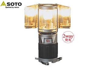 SOTO/ソト STG-28 G-ランプ・スプレッド 【ライター用ガス使用】 PKSS06