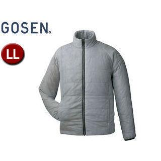 【nightsale】 GOSEN/ゴーセン Y1612 アイダーウォームスジャケット 【LL】 (ライトグレー)
