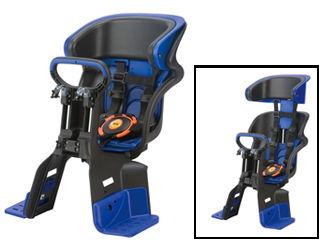 OGK/オージーケー FBC-011DX3 フロント チャイルドシート ヘッドレスト付コンフォート (ブラック/ブルー)