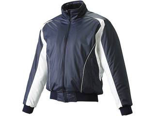 SSK/エスエスケイ BWG1002J-7010W ジュニア・蓄熱グラウンド中綿コート 【150】 (ネイビー×ホワイト×ホワイト)
