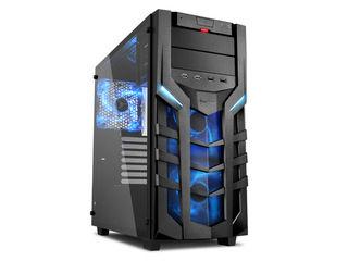 Sharkoon 強化ガラス採用ATXケース SHA-DG7000-GB ブルーLED