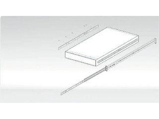 NETGAER/ネットギア・インターナショナル ラックマウントReadyNAS(1Uサイズ)用スライディングレール RRAIL04-10000S