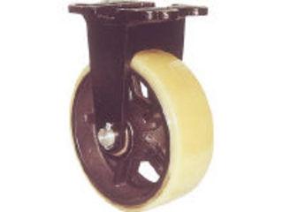 YODONO/ヨドノ 【代引不可】鋳物重量用キャスター 許容荷重1470 取付穴径18mm MUHA-MK300X100