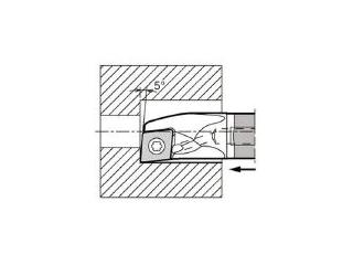 KYOCERA/京セラ 内径加工用ホルダ E12Q-SCLPR08-14A-1/2