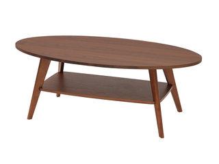 AZUMA kogei/あずま工芸 CREPE(クレープ) リビングテーブル WLT-2140 ダークブラウン