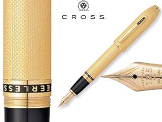 CROSS/クロス 【PEERLESS 125/ピアレス125】23金ヘビーゴールドプレート 万年筆 F AT0706-4FD