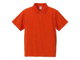 正規激安 United Athle ユナイテッドアスレ 出色 4.1オンス XL オレンジ ドライポロシャツ591001