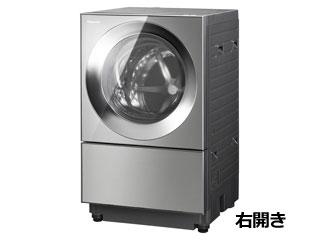 【標準配送設置無料!】 Panasonic/パナソニック 【まごころ配送】NA-VG2300R-X ななめドラム洗濯乾燥機 キューブル [右開き]【10kg】プレミアムステンレス