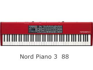 CLAVIA/クラヴィア Nord Piano 3 88 ステージピアノ【88鍵盤】 【沖縄・九州地方・北海道・その他の離島は配送できません】【現金振込のみ】 【配送時間指定不可】