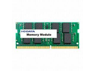 I・O DATA/アイ・オー・データ 【納期4月上旬】PC4-17000(DDR4-2133)対応ノートPC用メモリー 4GB SDZ2133-4G