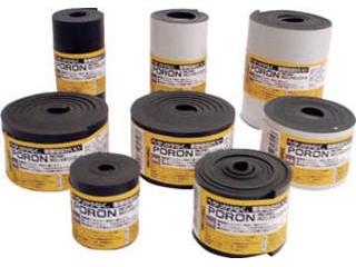 INOAC/イノアックコーポレーション マイクロセルウレタンPORON 黒 10×100mm×7M巻(テープ L24-10100-7M