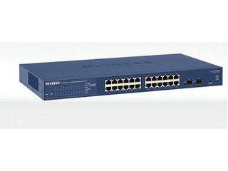 NETGAER/ネットギア・インターナショナル GS724T 24ポート ギガビット スマートスイッチ GS724T-400AJS