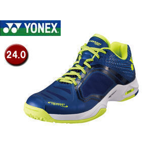 YONEX/ヨネックス SHTADSA-554 テニスシューズ パワークッション エアラスダッシュ SAC 【24.0】 (ダークネイビー)