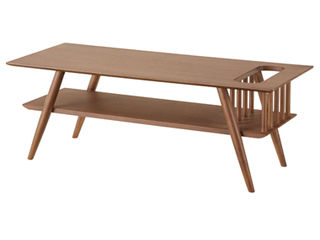 東谷/あづまや【メーカー直送代引不可】 SOT/ソット 棚付センターテーブル SOT-105BR