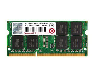 トランセンド・ジャパン 8GB DDR3 1600 ECC-SO-DIMM 2Rx8 TS1GSK72V6H 納期にお時間がかかる場合があります
