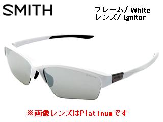 Smith Optics/スミス TAKEFIVE SPORTS White 【レンズ/Ignitor】 【当社取扱いのスミス商品はすべて日本正規代理店取扱品です】