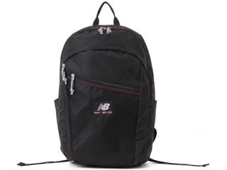 NewBalance ニューバランス JABL0674 ナイロン 軽量バックパック 23L ブラック Athleticシリーズ