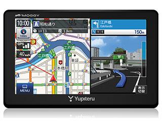 YUPITERU/ユピテル MOGGY YPB555ML ポータブルカーナビゲーション 12V車専用 ベーシックモデル 5インチ/ワイド液晶ディスプレイ/ワンセグ搭載