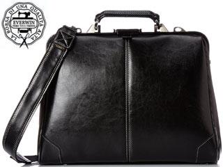 EVERWIN/エバウィン 【納期3月上旬以降】21591 Torino/トリノ ゼットカーフ 国産 3way ダレスバッグ(ブラック/メンズ/レディース) ビジネスバッグ リュック ショルダー
