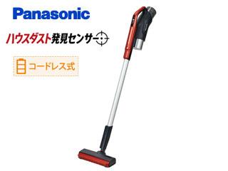 Panasonic/パナソニック MC-SBU310J-R コードレススティック掃除機 (レッド)