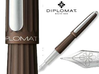 DIPLOMAT/ディプロマット 【Aero/アエロ】メタリックブラウン FP (F)