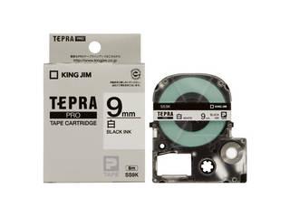 9mm白に黒文字 KINGJIM キングジム SS9K セール 登場から人気沸騰 高級 テプラPRO用テープ 黒文字 白