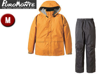 Puromonte/プロモンテ SR135M Rain Wear ゴアテックス レインスーツ Men's 【M】 (オレンジ×チャコール)