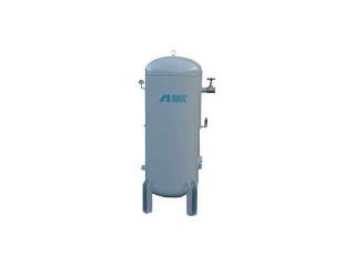 【組立・輸送等の都合で納期に1週間以上かかります】 ANEST IWATA/アネスト岩田 【代引不可】空気タンク 400L SAT400C140