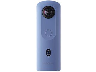 【お得なセットもあります】 RICOH/リコー RICOH THETA SC2(ブルー) 全天球カメラ リコー・シータ