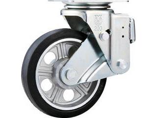 YUEI CASTER/ユーエイ スカイキャスター自在車 200径アルミホイルウレタンB入り車輪 SKY-1S200AW-AS
