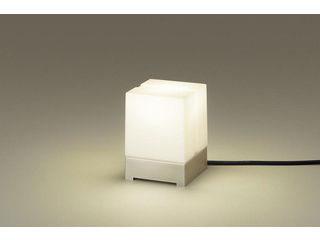 Panasonic/パナソニック LGW45850Z 据置取付型 LED(電球色)アプローチスタンド プラチナメタリック